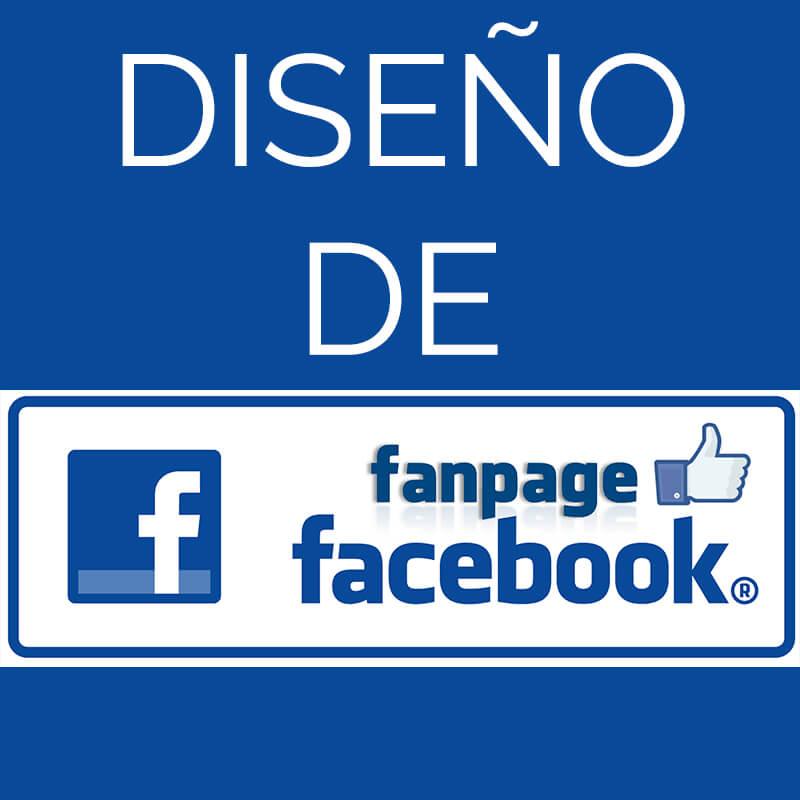Diseño fan Page de Facebook